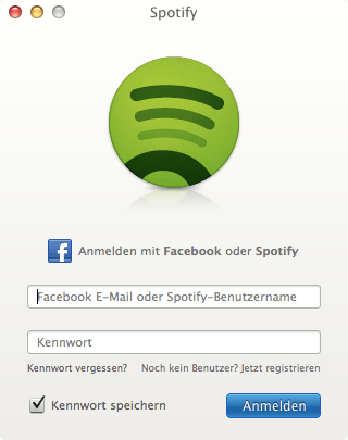 Spotify ohne Facebook-Account